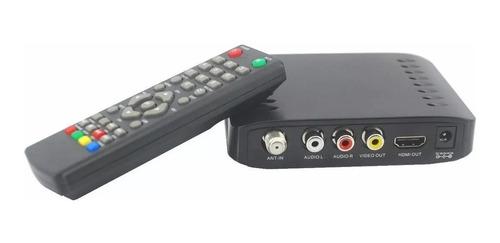 Decodificador Sintonizador Tv Digital Hd Tda1000 Luxell Hdmi