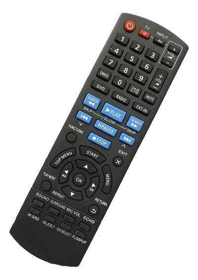Controle Remoto Home Theater Panasonic Sc-pt160 Sa-pt160 Pt7