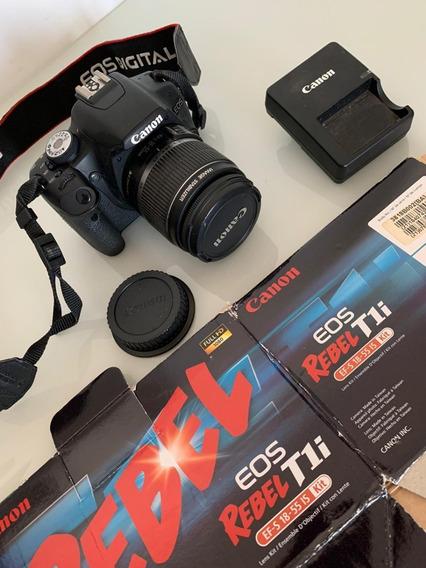 Camera Profissional Canon Rebel T1i