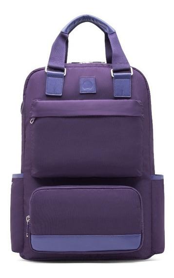 Mochila Portanotebook 15,6 Delsey Legere (violeta)
