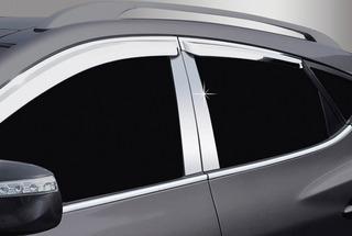 Pilares Cromados Cubre Boceles Ford Fiesta Titanium