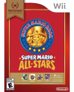 Super Mario All Stars Wii Nuevo Sellado + Envio Gratis