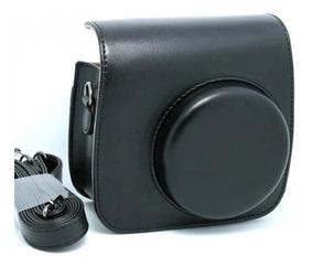 Bolsa Couro Sintético Alça - Câmera Instax Mini