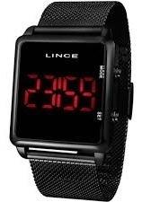 Relógio Lince Digital Unissex Led Mdn4596l Pxpx