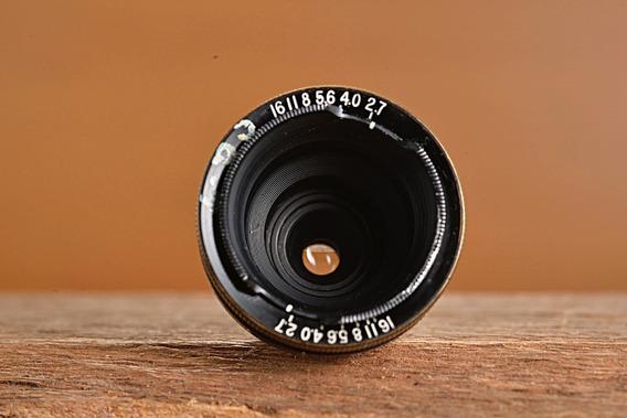 Lente Exercito Americano 15mm 2.7 Eastman Kodak Anastigmat