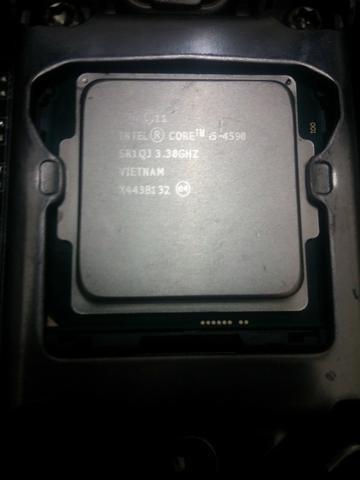 Processador I5 4590 3,30 Ghz 4ª Geração Lga 1150