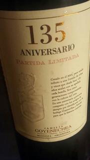 Vino 135 Aniversario Bodegas Goyenechea Mas De 150 Años