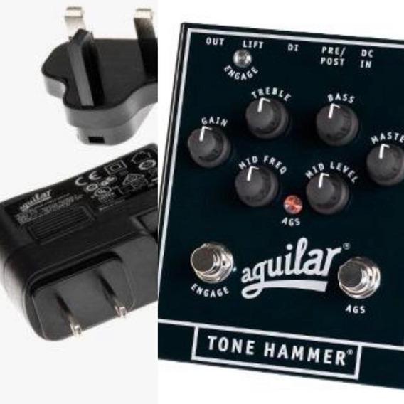Pedal Aguilar Tone Hammer Preamp +fonte Original