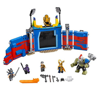 Lego Marvel Super Heroes Thor Hulk Choque Arena 76088