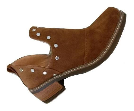 Bota Zapato Charrito Texana Mujer