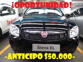 Fiat Siena Entrega $50.000 Y Cuotas Sin Interes Taraborelli