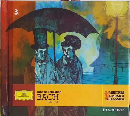Cd J. S. Bach Mestres Das Músicas Clássicas 3