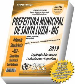 Apostila Santa Luzia - Professor Peb - Frete Grátis !