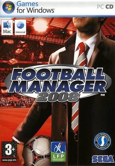 Football Manager 2008 Jogo Para Pc