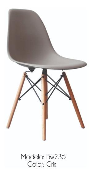 Silla Eames, Moderna, Set De 4 Pz, Bw 235