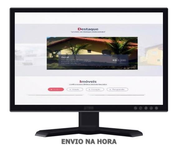 Script Imobiliária Php Com Painel Administrativo Completo
