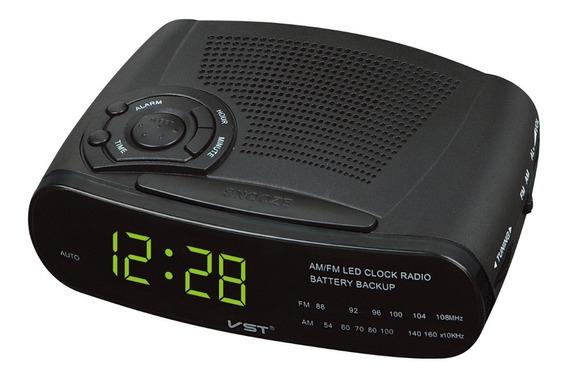 Rádio Relógio Despertador Digital Vst-906 Am/fm Frete Grátis