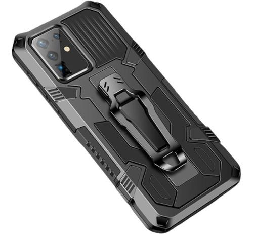 Imagem 1 de 7 de Capa Case Capinha Antiqueda Com Clip Suporte Galaxy S20 6,2