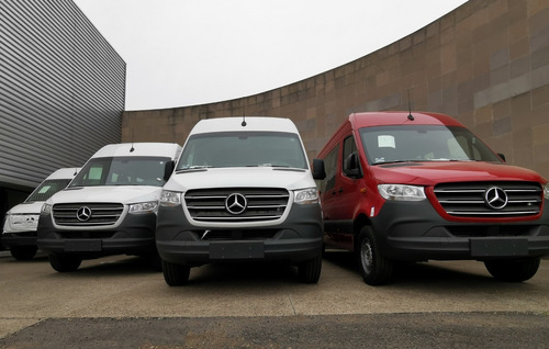 Nueva Sprinter 2021 Mercedes Benz Van 22 Pasajeros 516 Cdi