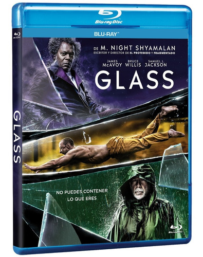 Glass Bluray Nuevo Riginal M. Night Shyamalan James Mcavoy