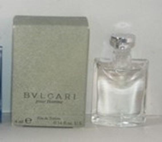 Miniatura De Perfume: Bvlgari Pour Homme - 4 Ml - Edt