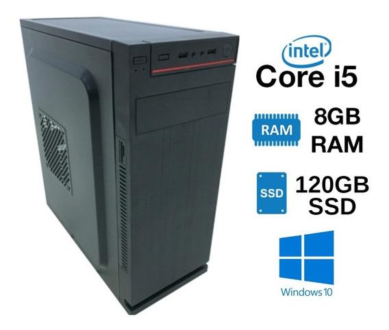 Desktop I5 120gb Ssd 8gb Ram Estoque Limitado