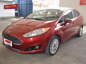 Ford Fiesta Sedan 1.6 At Titanium Placa Uuo755