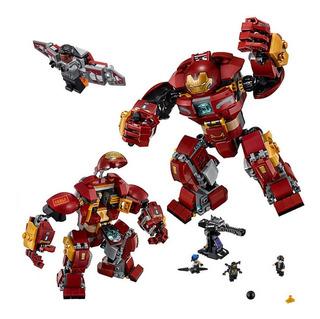 Hulkbuster Ironman Avengers Compatible Lego + Accesorios