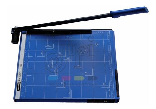 Guillotina Metalica Palanca A3 Color Azul