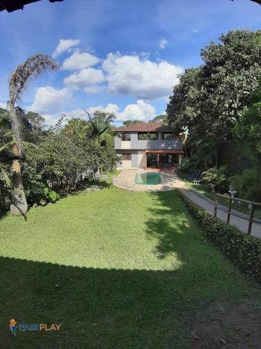 Chácara Com 3 Dormitórios À Venda, 1900 M² Por R$ 700.000,00 - Loteamento Chacaras Embu-guacu - Embu-guaçu/sp - Ch0006
