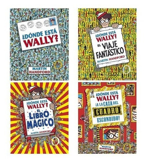 Pack ¿dónde Está Wally? (4 Libros) - Martin Handford