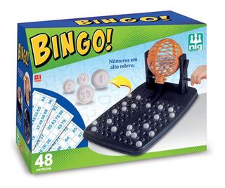 Jogo De Mesa Bingo Com 48 Cartelas Da Nig Brinquedos 1000