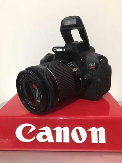 Canon T5i Kit 18-55+ 50m 1.8 Stm C/12 Mil Clicks+bat Extra