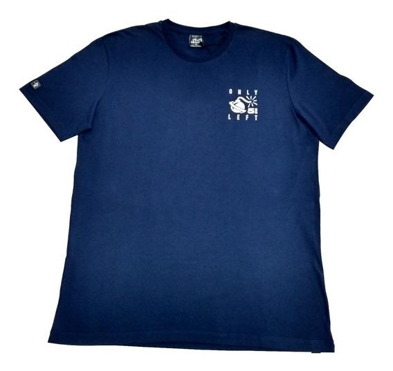 Camiseta Lost Last Five Azul Marinho Original Esp G