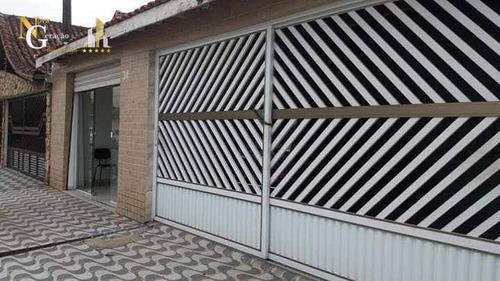 Casa Com 3 Dormitórios E Sala Comercial À Venda Por R$ 650.000 - Boqueirão - Praia Grande/sp - Ca0426