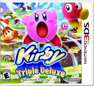 Kirby Triple Deluxe 3ds Nuevo Sellado