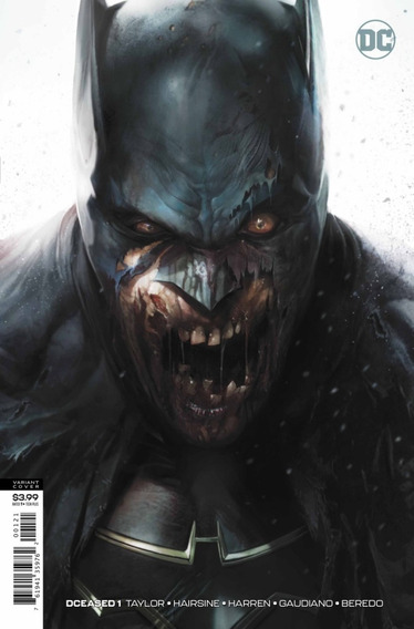 Dceased #1 Variant Cover (2019) Justice League Batman Dc