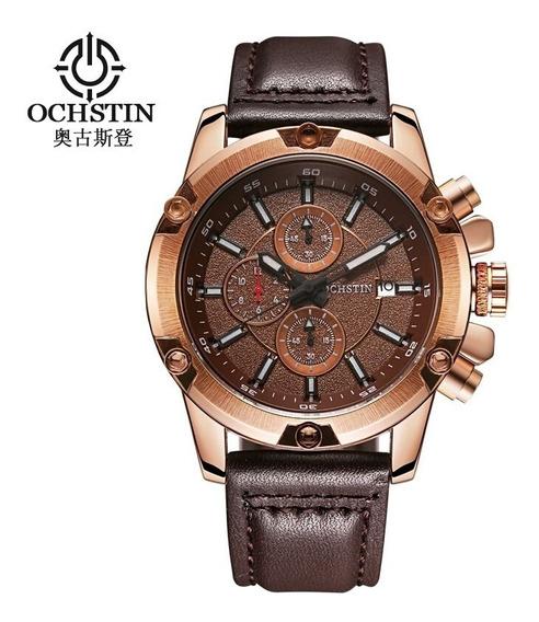 Relógio Masculino Ochstin 075b Marrom