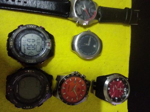 Lote 6  Relógios Tecnicos E Oriente