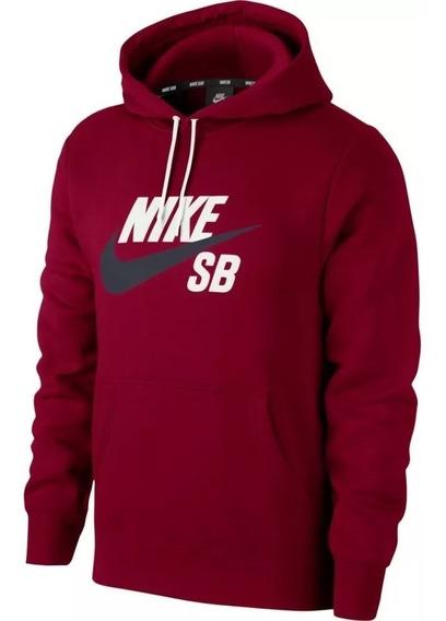 Blusão Nike Sb Hoodie Essentials Vermelho Original