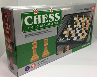 Paquete De 10 Clásico Juego De Estrategia Ajedrez Chess