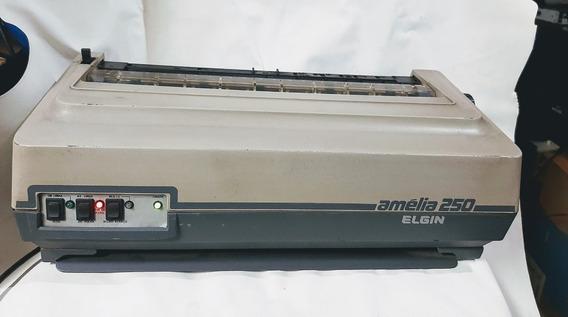 Raridade Colecionador Impressora Elgin Amelia 250