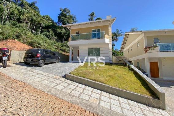 Casa Duplex Nova Com 4 Quartos, Ermitage, R$ 780.000,00, Teresópolis, Rj - Ca0212