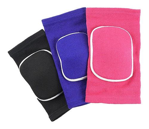 Imagen 1 de 4 de Rodillera Elástica Con Protección Para Deportes Volley Par