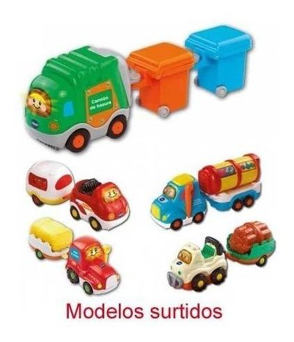 Vehiculo + Remolque X1 Surtido Tut Tut Megatoys 5222