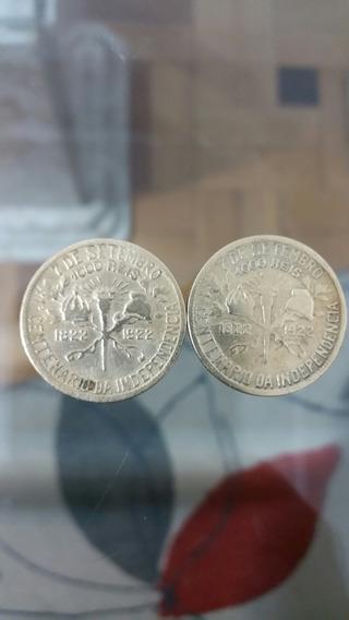 Moeda De 1000 Reis 1822-1922 Duas Unidades