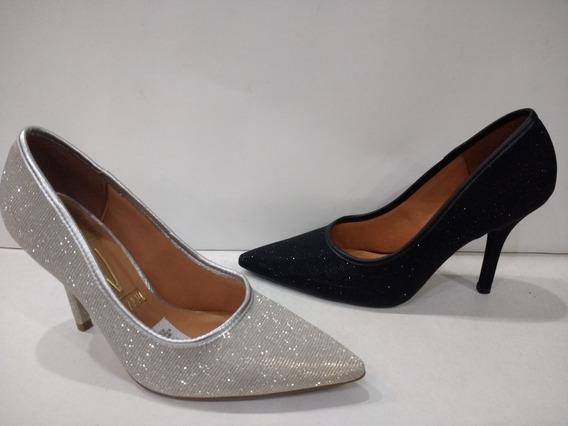 Zapatos Dama De Fiesta Glitter Vizzano Calz. Moni
