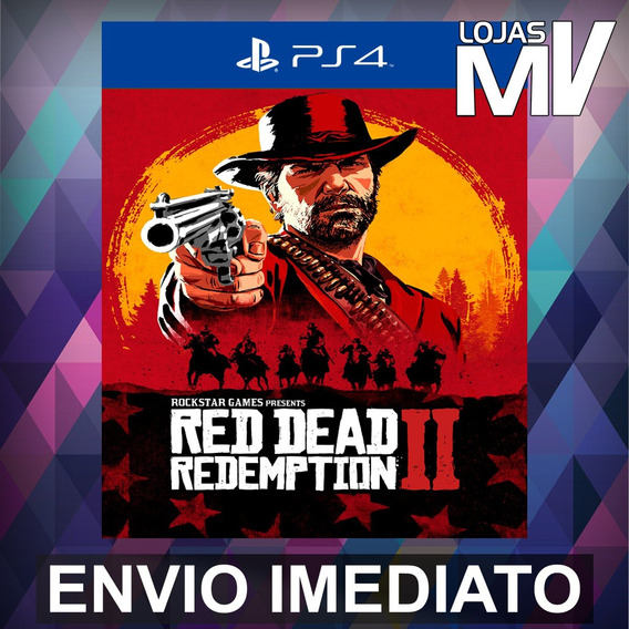 Red Dead Redemption 2 Ps4 Codigo 12 Digitos Br