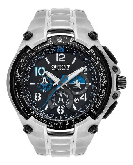 Relógio Orient Titâneo Cronógrafo Caixa Grande Lindo+frete