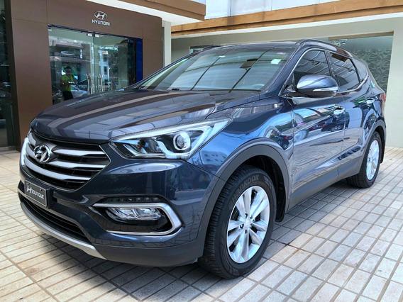 Hyundai Santa Fe 2017 Full 3 Filas Piel Cámara Gps Garantía